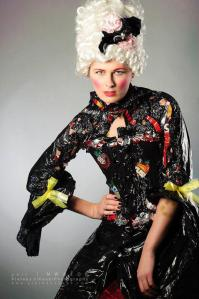 Marie Antoinette Trash bag Costume